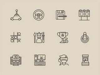 30 视频游戏图标