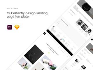 网页模板设计,最小机构