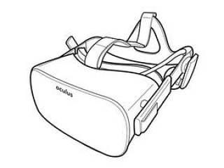 Oculus Rift 和 Touch 线框图