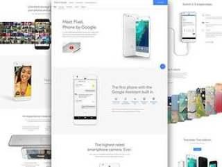 Google Pixel 着陆页