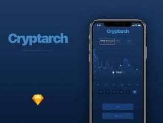 Cryptarch iOS UI Kit,Cryptarch UI Kit
