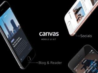移动包120 +高品质的iOS屏幕,帆布UI工具包
