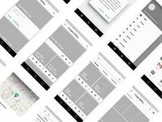 Material Design 线框包