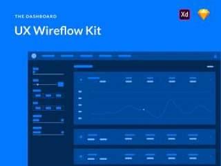 用于交互设计快速线流的300多种元素和屏幕(含XD和Sketch源文件格式)