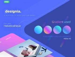 Designia 机构登陆页面