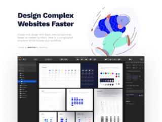 使用基于Sketch嵌套符号的符号设计系统2创建包含组件的Web设计
