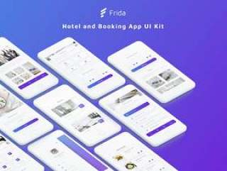 高品质酒店和预订应用UI工具包(含sketch源文件)
