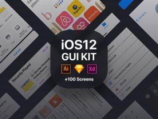 ios 12-ui-kit,iOS 12 GUI KIT