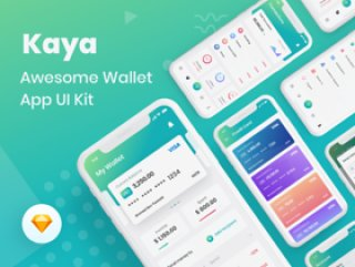 Wallet App以对细节和快速工作流程的热爱而着称.Kaya:Wallet App