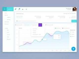 网页分析仪表板