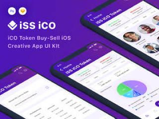 高质量的iCO令牌购买销售用于Sketch和Photoshop的iOS App UI套件,iSS iCO UI套件