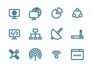 20 枚互联网元素图标
