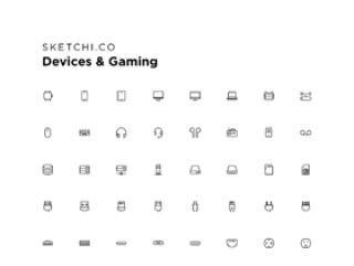 96个图标适用于计算机,手机,平板电脑和视频游戏!,设备和游戏图标