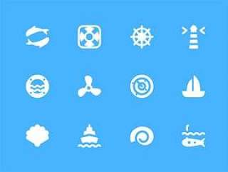 30 枚航海元素图标