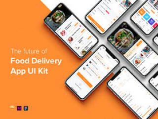 Food Delivery移动应用UI工具包,Fozzi - Food Delivery移动应用UI工具包