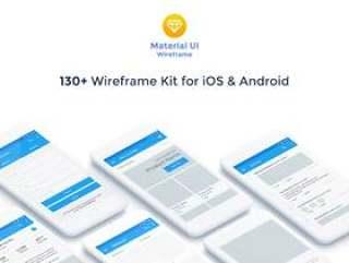 Baseframe由6个流行类别Baseframe Material UI中的130多个即用型屏幕组成