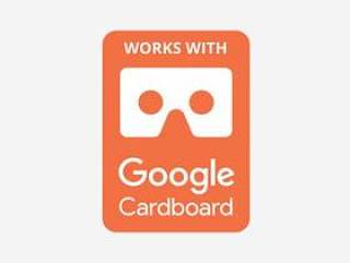 Google Cardboard VR 徽章