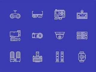 50 枚科技设备图标