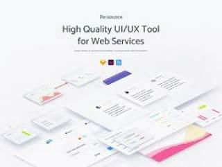 150个用于Web服务的高质量UI / UX工具包(包含psd,xd,sketch源文件格式)