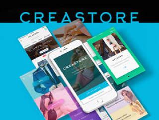 大型专业用户界面工具包,用于您的新商店,Creastore UI工具包