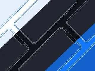 iPhone X 线框图