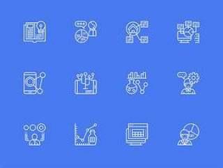 30 枚数据可视化元素图标
