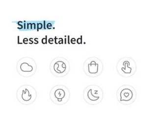 适用于iOS和Android的400多个行图标,10个类别。,Lucid Line Icons