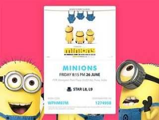 Minions Movie Card