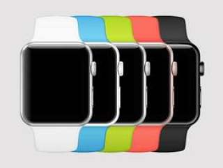 Apple Watch 系列 2 全色系模型