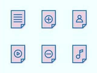 9 枚文件类型图标