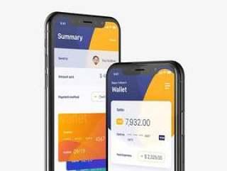 Finansi 金融 iPhone X 界面包