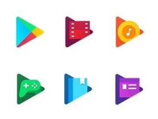 Google Play 家族新图标