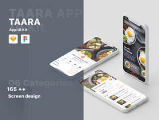 165+高级屏幕 - 06类别应用UI工具包,Taara应用UI工具包