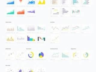 Sketch的最全面的图表,图形和图表集合