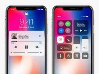 iPhone X iOS 11 界面包