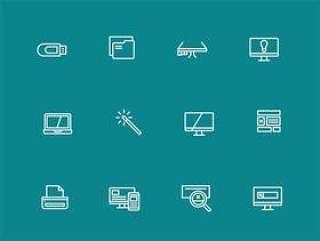 50 枚设计工具图标