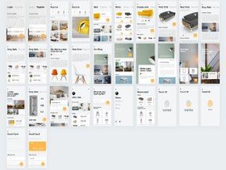 """""""Place It""""是世界上最强大的家具素描套件,专为iOS设计,Place It UI Kit"""