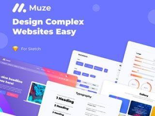 Sketch,Muze设计系统的设计系统