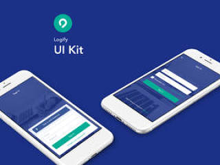 Sketch iOS UI Kit适用于您的下一个项目。,Logify UI Kit