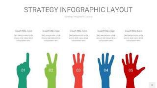 四色战略计划统筹PPT信息图14