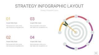 粉黄色战略计划统筹PPT信息图26