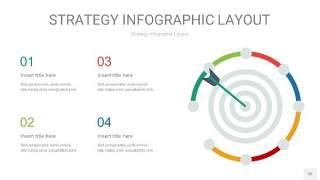 四色战略计划统筹PPT信息图26