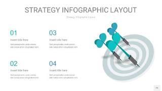 蓝绿色战略计划统筹PPT信息图25