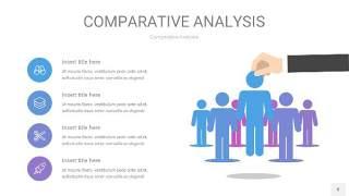 蓝紫色用户人群分析PPT图表8