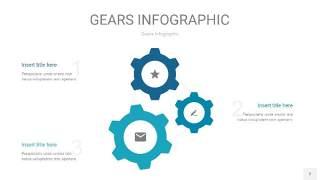 宝石绿齿轮PPT信息图2