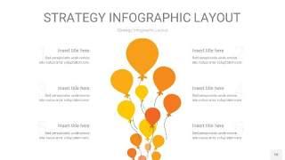 黄色战略计划统筹PPT信息图10
