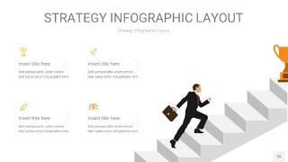 黄色战略计划统筹PPT信息图35