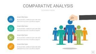 蓝绿用户人群分析PPT图表8