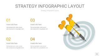 黄色战略计划统筹PPT信息图25