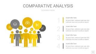灰黄色用户人群分析PPT图表9